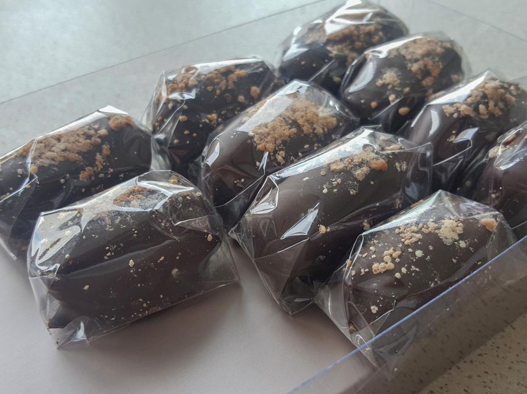 Daktyle w czekoladzie
