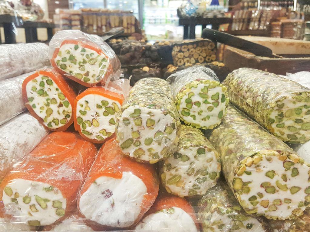 Nugat z pistacjami