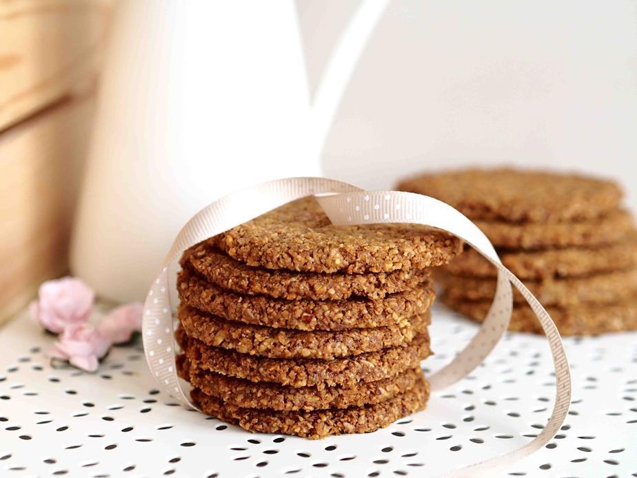 migdałowe ciasteczka owsiane