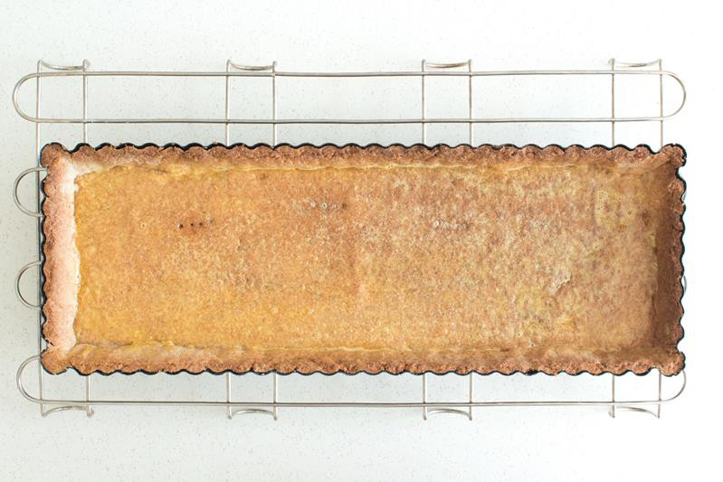 upieczoene pełnoziarniste ciasto kruche