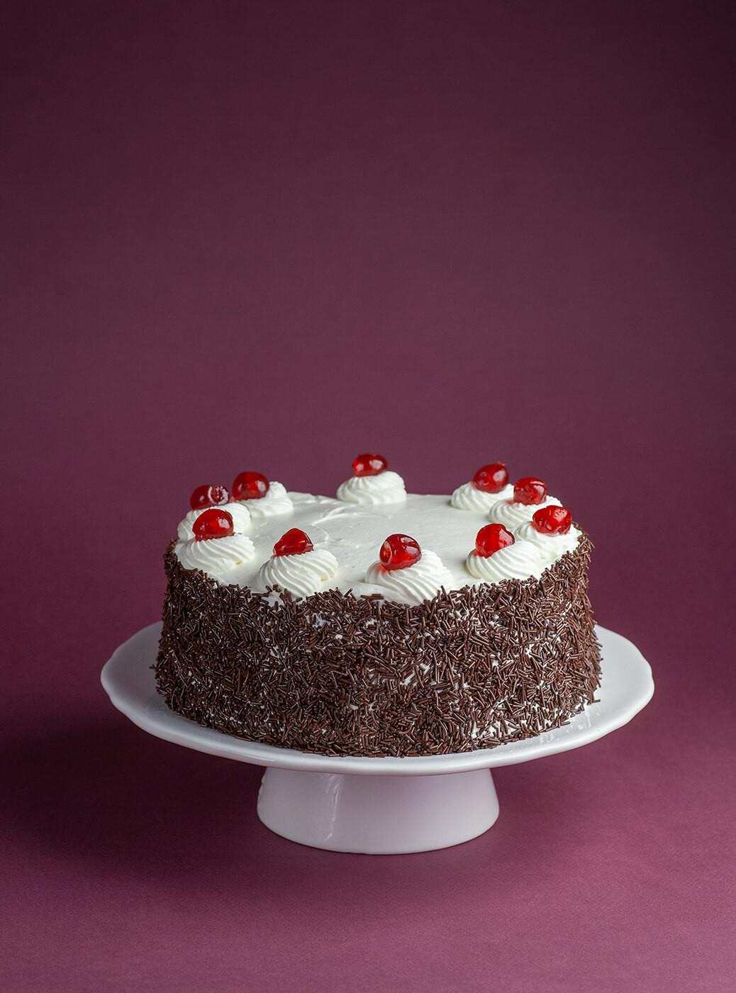 Tort szwarcwaldzki - niemieckie ciasto Czarny Las.