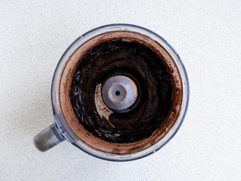 zmiksowana masa w malakserze