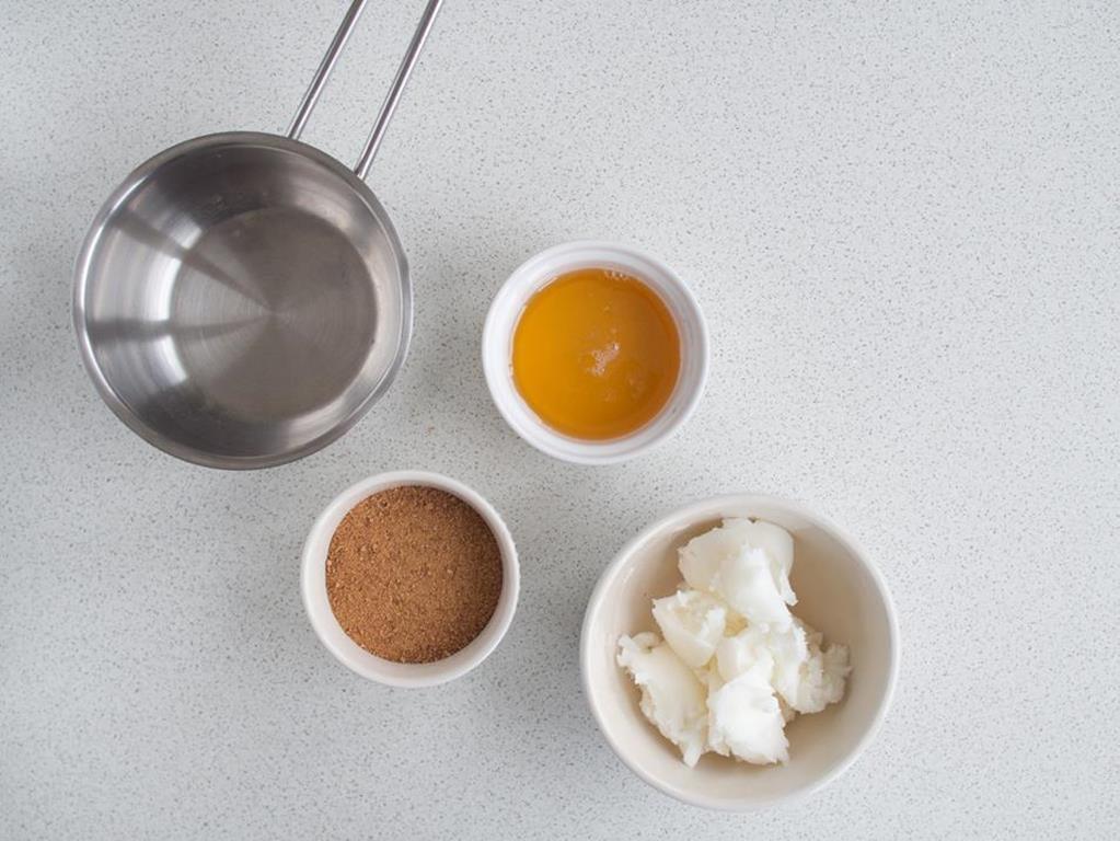 olej kokosowy, miód, cukier kokosowy