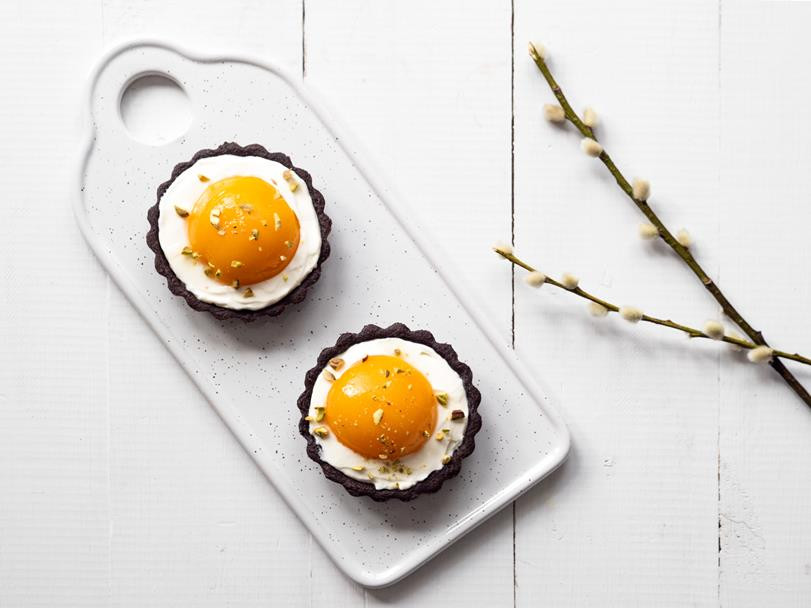 Tartaletki jajko sadzone