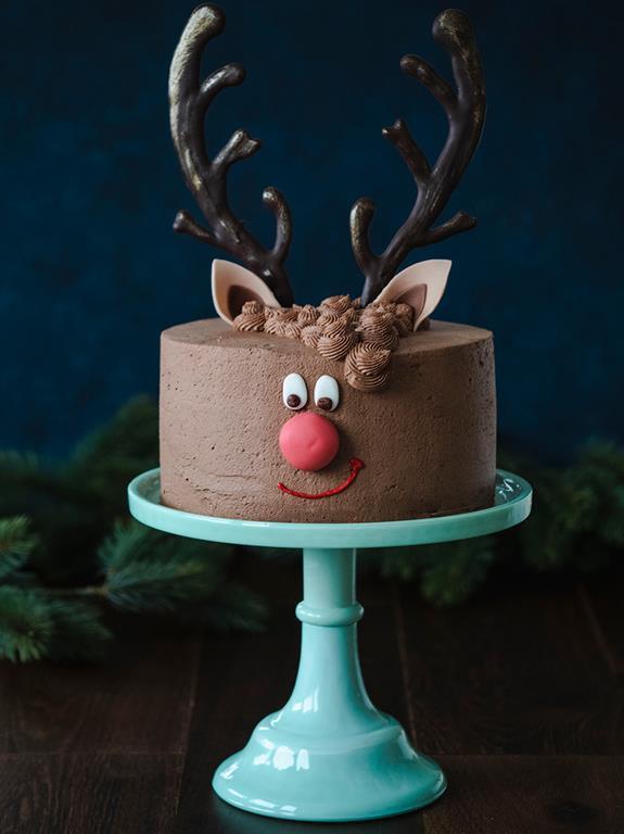 Tort Renifer Rudolf - Wszystkiego Słodkiego