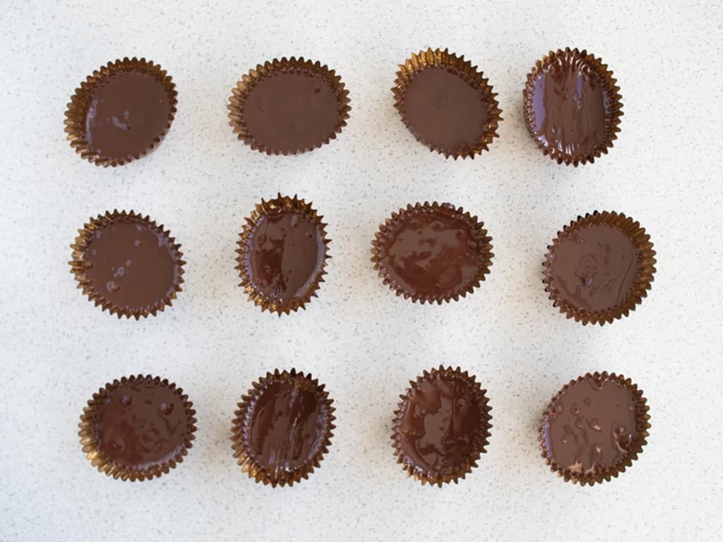 czekolada w papilotkach