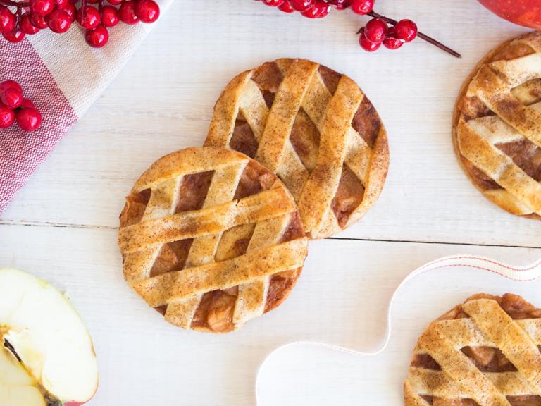 Kruche ciasteczka jabłkowe - Wszystkiego Słodkiego