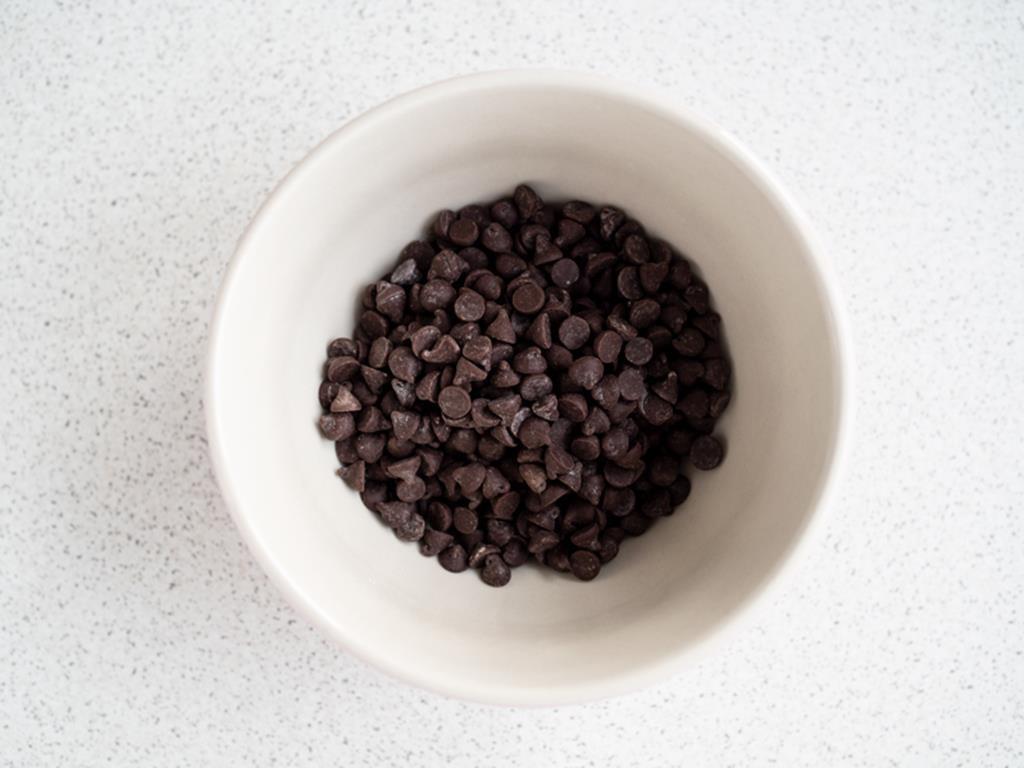 czekoladowe kropelki