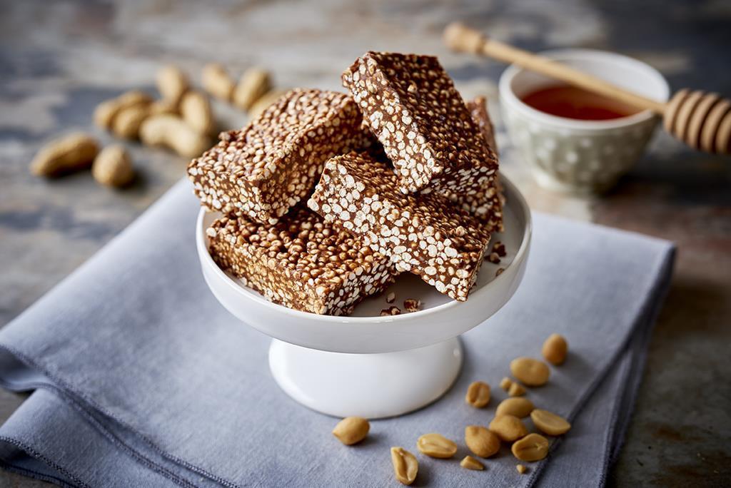 czekoladowe batoniki bez glutenu z kaszy jaglanej
