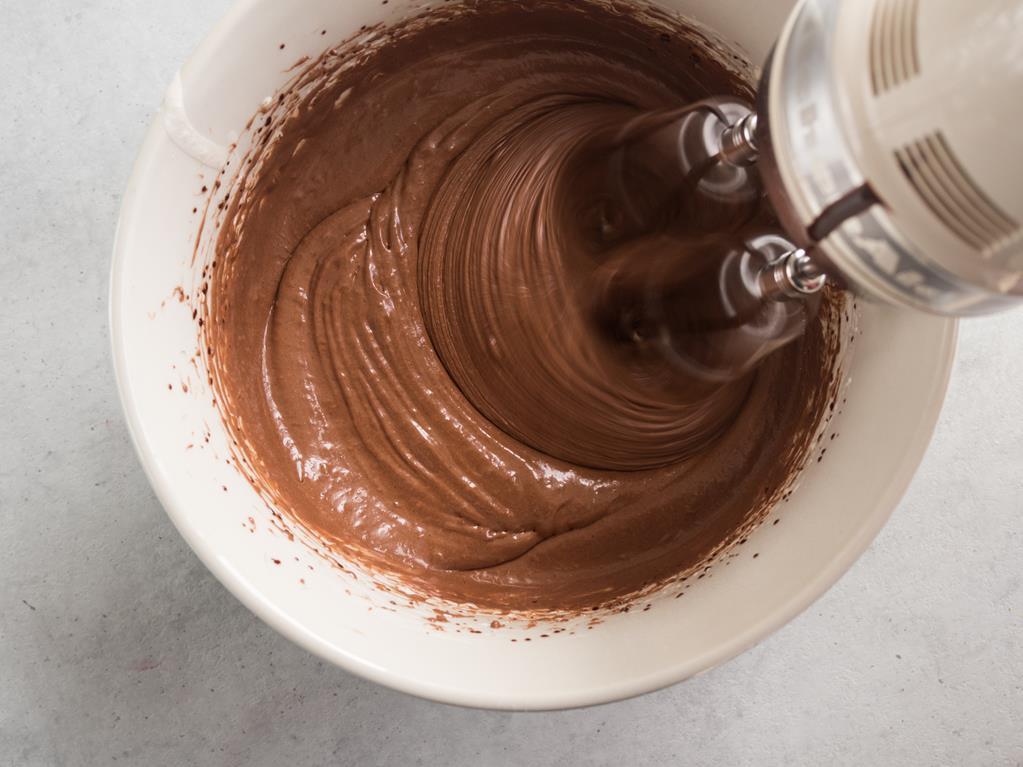 masa na czekoladowe ciasteczka