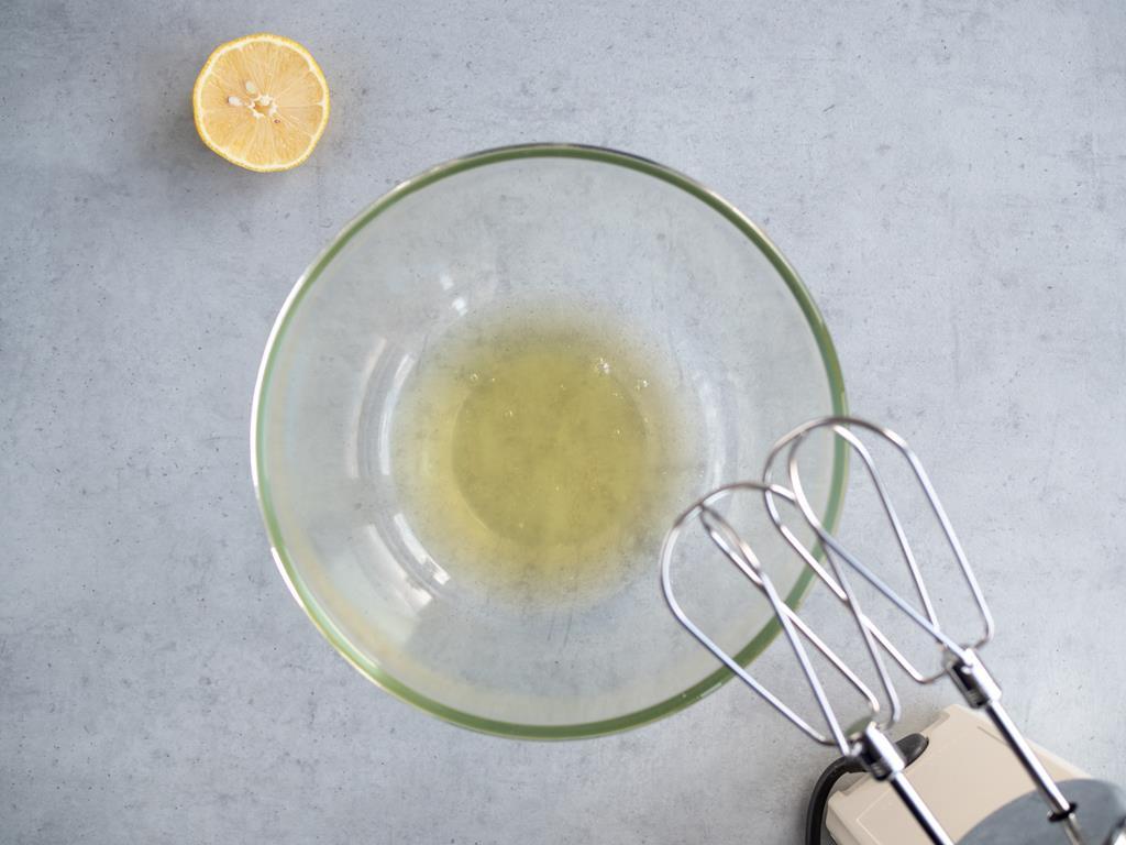 białka, sok z cytryny