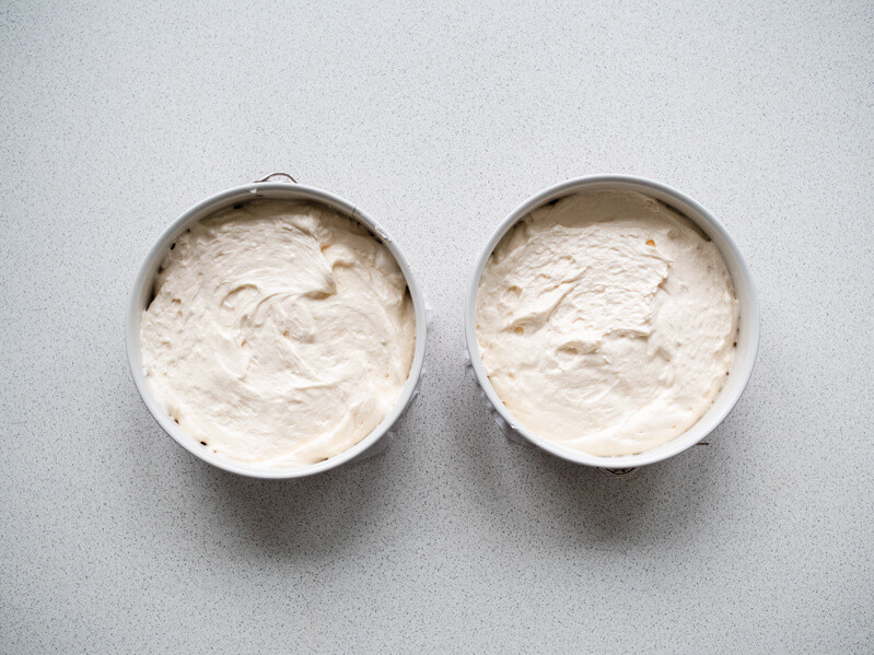 masa biszkoptowa przed pieczeniem