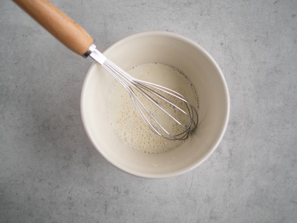 skrobia kukurydziana z mlekiem