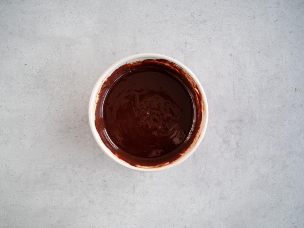 ganache z czekolady deserowej