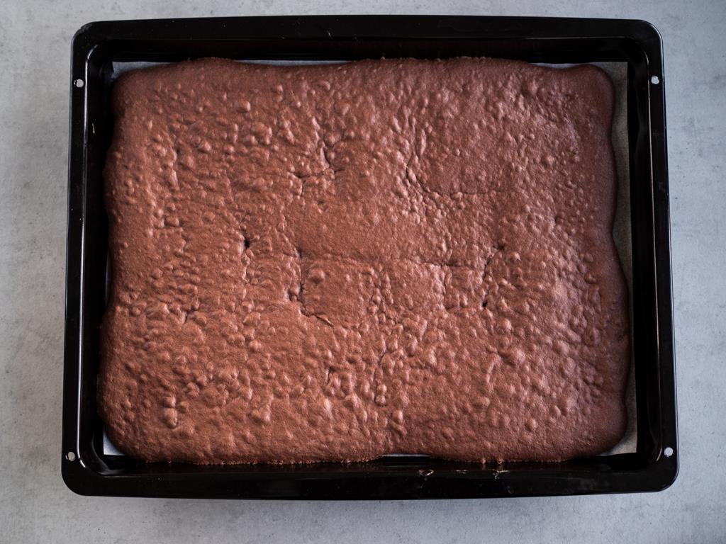 biszkopt czekoladowy na roladę