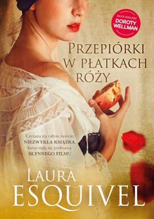 Przepiórki w płatkach róży - okładka książki o gotowaniu