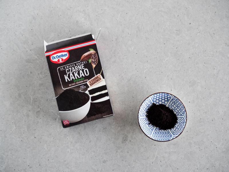 czarne kakao Dr. Oetkera