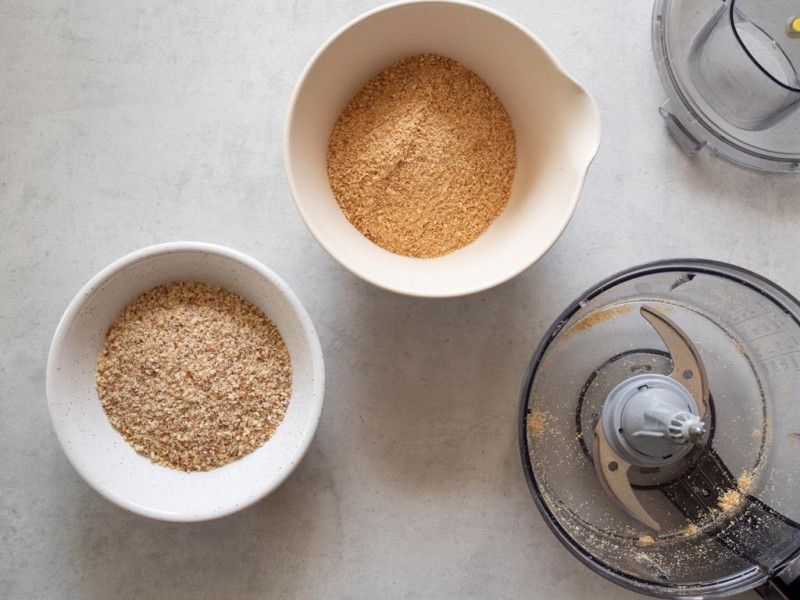 orzechy laskowe, herbatniki malakser do robota kuchennego Bosch OptiMUM MUM9BX5S65