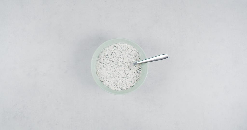 Pomieszane suche składniki