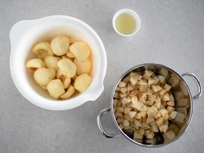 jabłka do szarlotki bezglutenowej