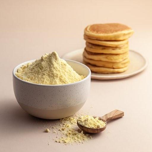 Mąka kukurydziana i placuszki z mąki kukurydzianej