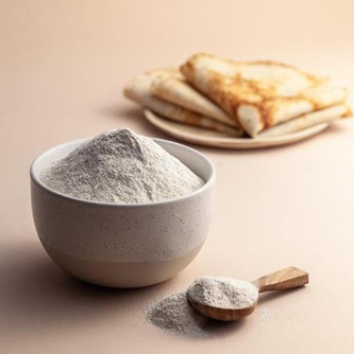Mąka ryżowa w miseczce