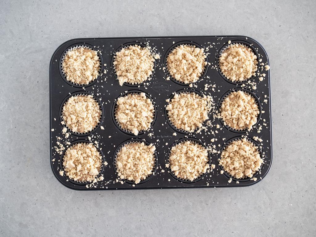 muffinki posypane kruszonką