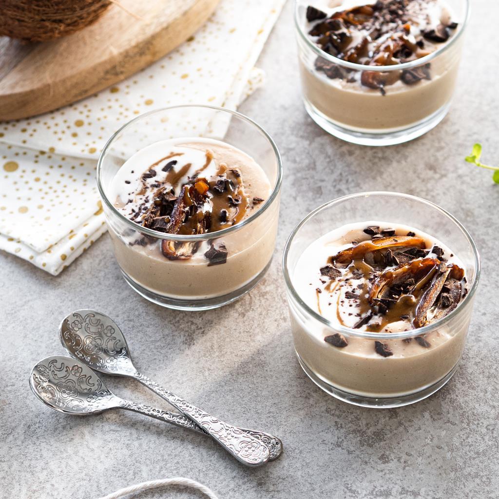 Wegański pudding karmelowy w pojemniczku - Wszystkiego Słodkiego