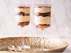 klasyczne włoskie tiramisu, porcja dla dwojga - Wszystkiego Słodkiego