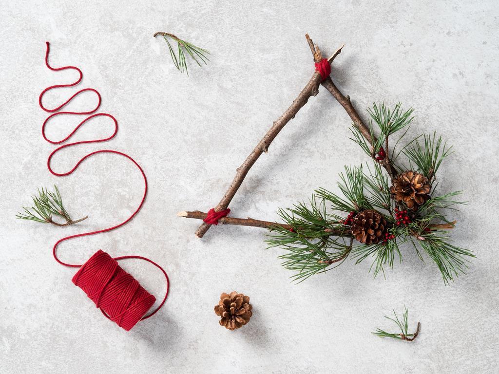 DIY Świąteczne dekoracje do domu - wianki bożonarodzeniowe - Wszystkiego Słodkiego