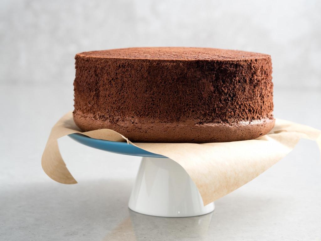 biszkopt kakaowy, czekoladowy z wodą - wszystkiego słodkiego