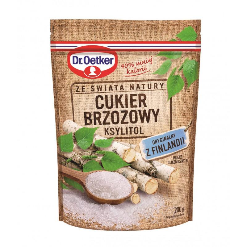 Cukier brzozowy ksylitol z Finlandii od Dr. Oetkera