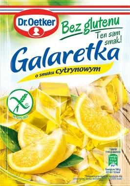Galaretka cytrynowa (bez glutenu)