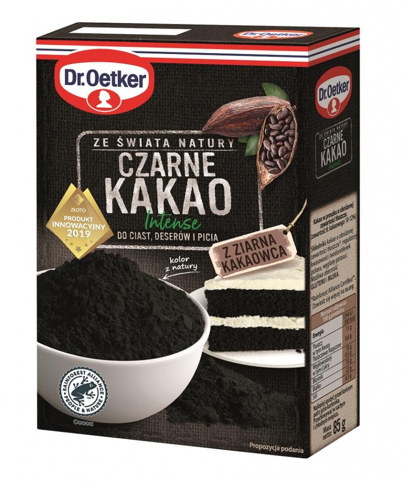 Czarne Kakao Intense Dr. Oetkera