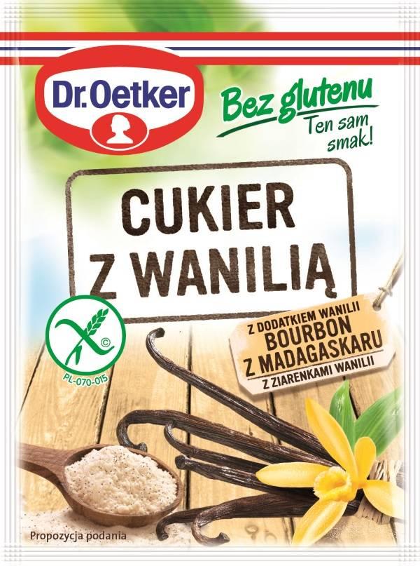 Cukier z wanilią (bez glutenu)