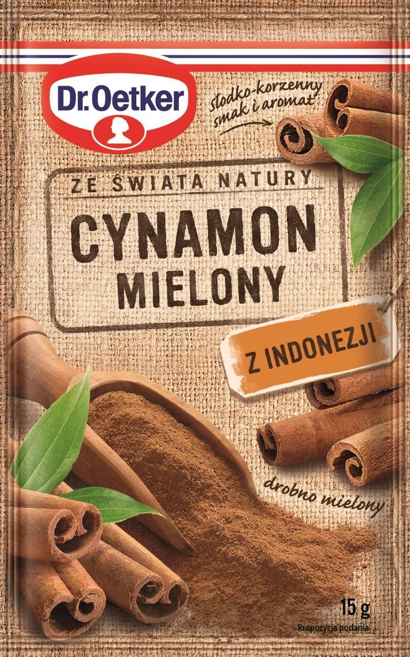 Cynamon mielony z Indonezji