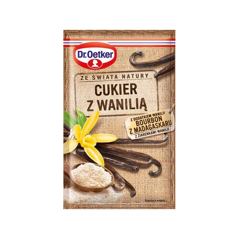 Cukier z wanilią Bourbon Dr. Oetker