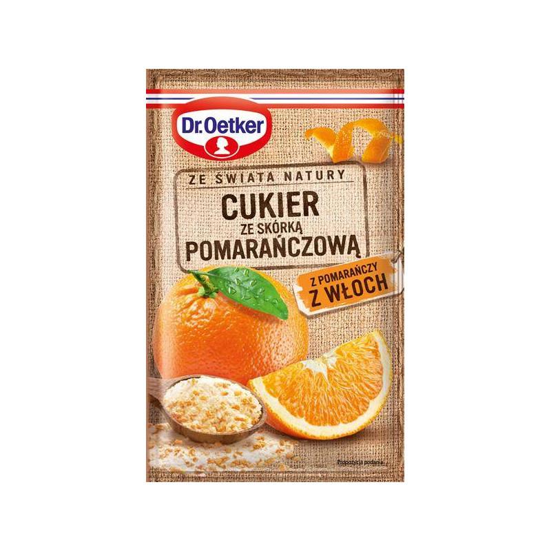 Cukier ze skórką pomarańczową Dr. Oetker