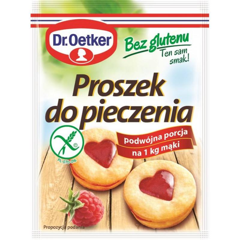 Proszek do pieczenia bez glutenu Dr. Oetker