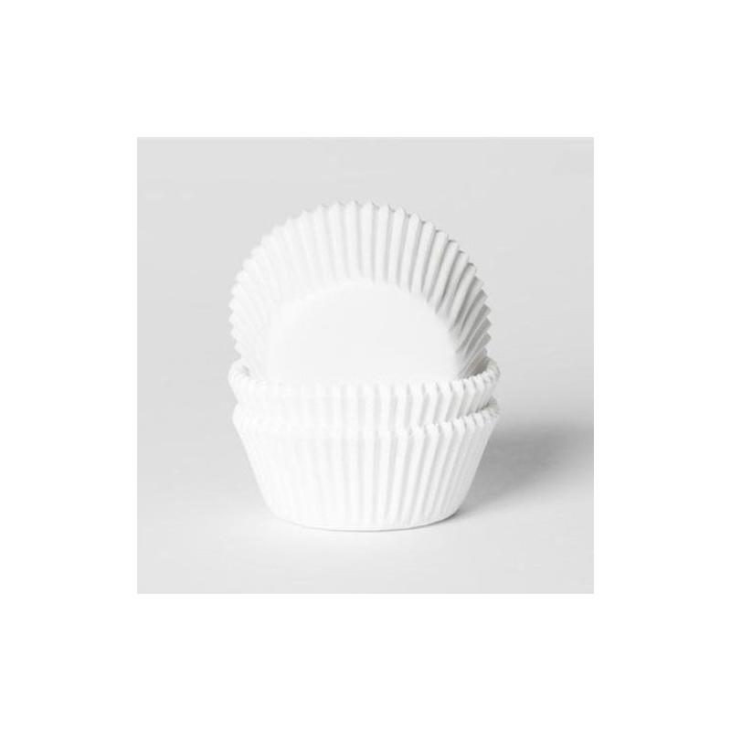 Mini papilotki do muffinek białe