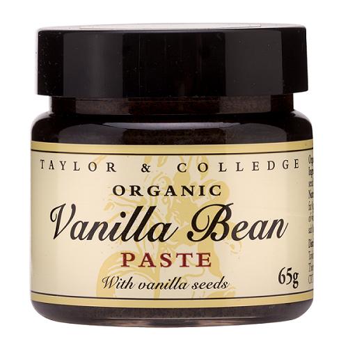 Pasta waniliowa ekologiczna Taylor & Colledge