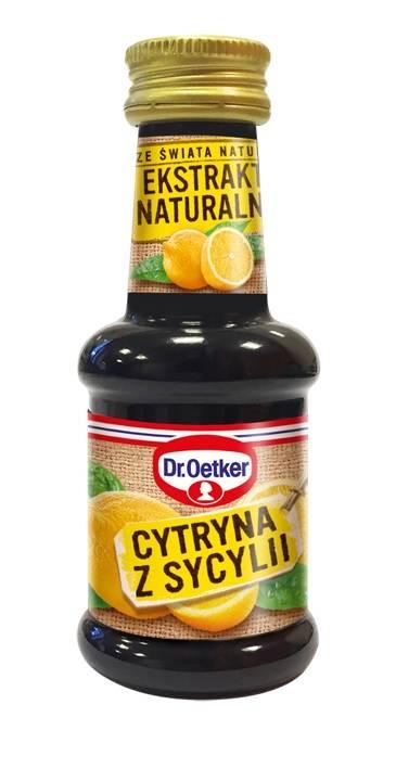 Ekstrakt naturalny Cytryna z Sycylii