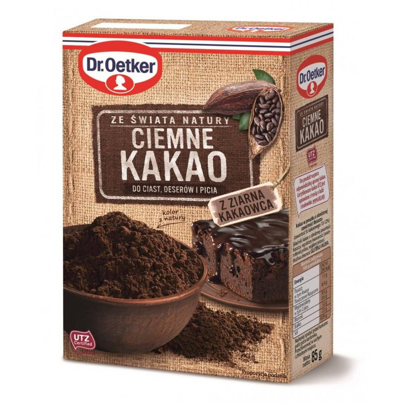 Kakao ciemne z ziarna kakaowca
