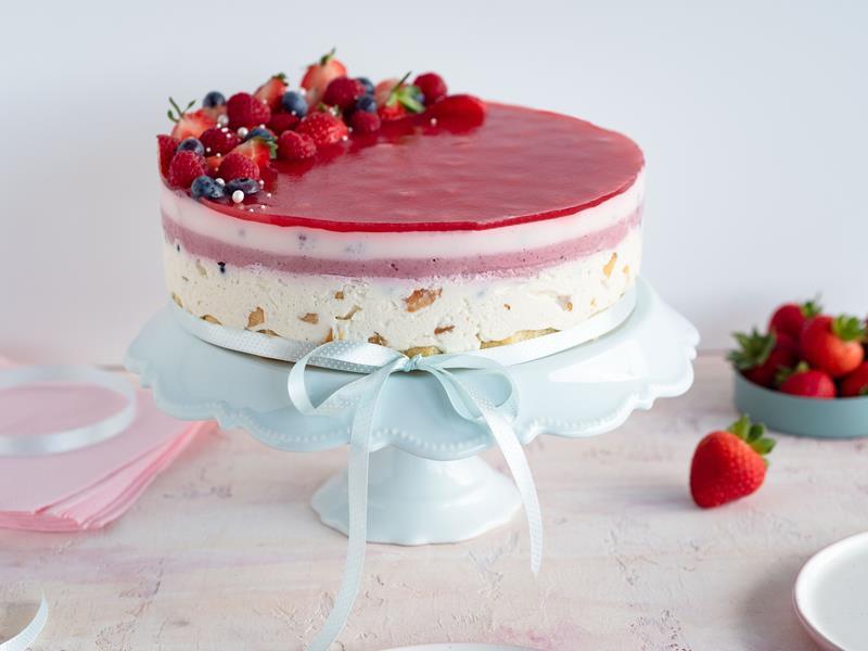 tort owocowy bez pieczenia wszystkiego słodkiego