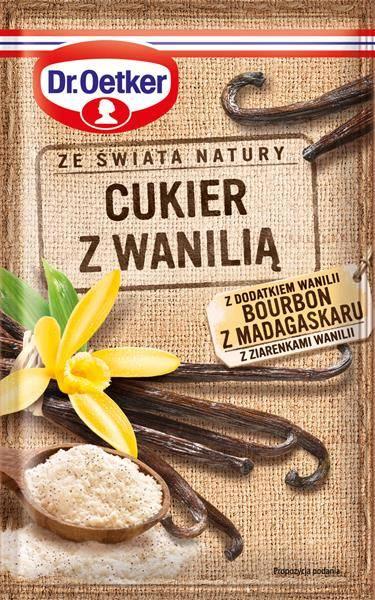 Cukier z Wanilią Bourbon