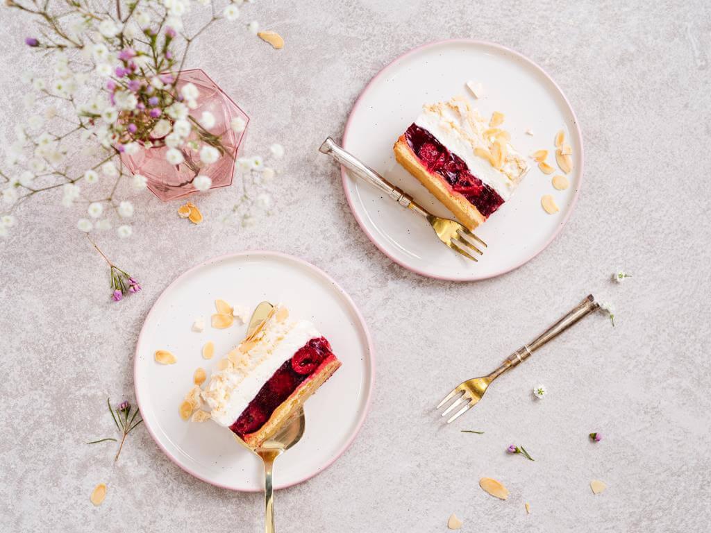 ciasto wiśniowa chmurka - Wszystkiego Słodkiego