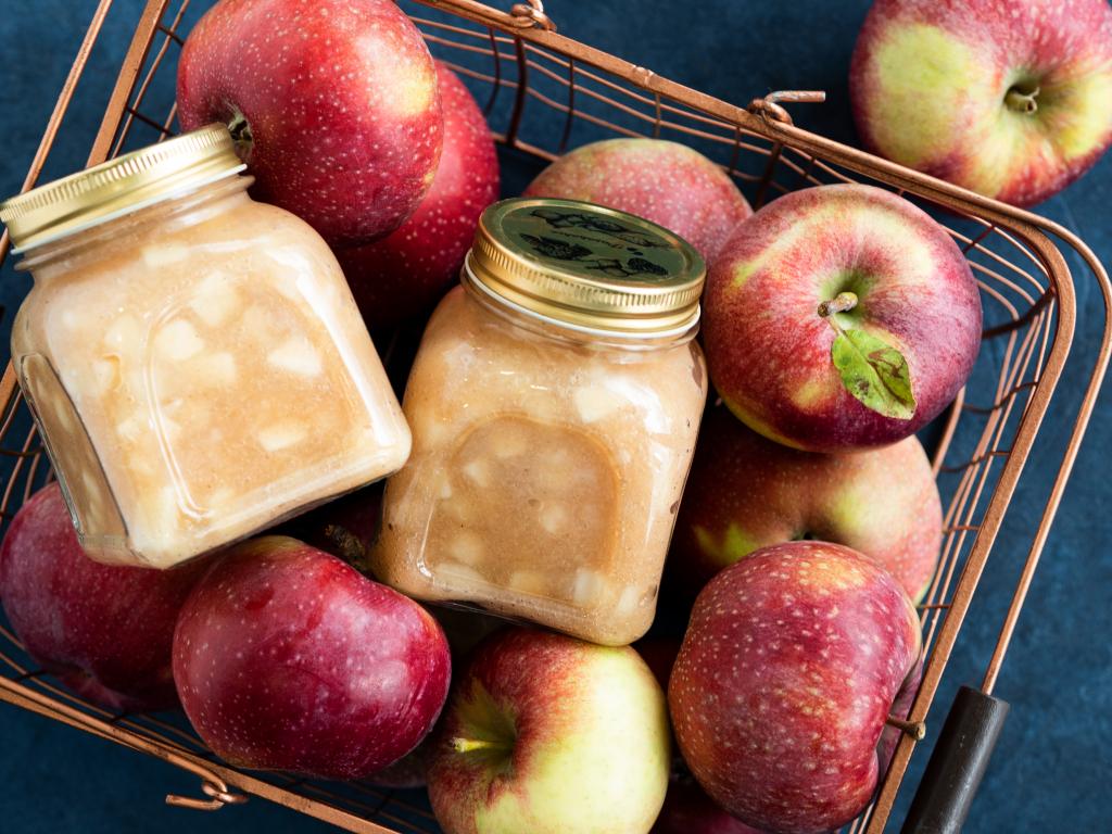 prażone jabłka z wanilia i cynamonem do słoika - Wszystkiego Słodkiego