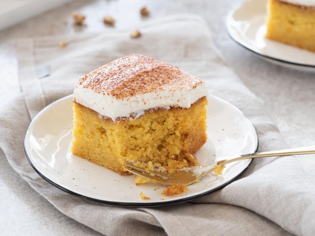 Najlepsze ciasto dyniowe z kremem z mleka skondensowanego - Wszystkiego Słodkiego